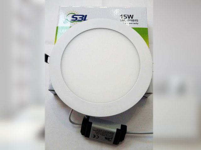 پنل LED آلومینیومی مدل SBL-PRB15