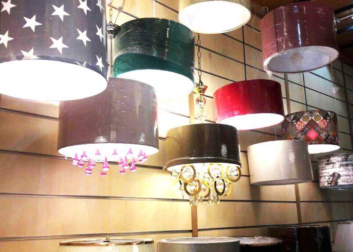 چراغ آویزهای فانتزی در طرح ها و رنگ های مختلف