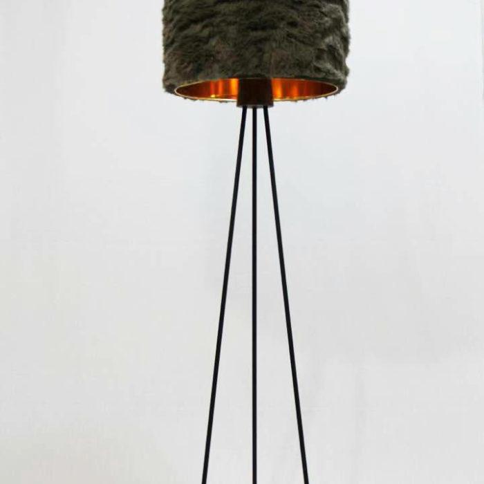 آباژور فلوفی (Fluffy) پایه فلزی