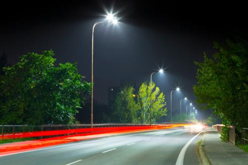 استفاده از چراغ خیابانی ال ای دی در ایران